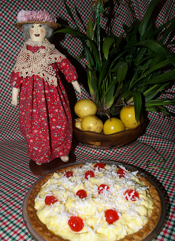 Tutu and the 2 minute Pineapple pie