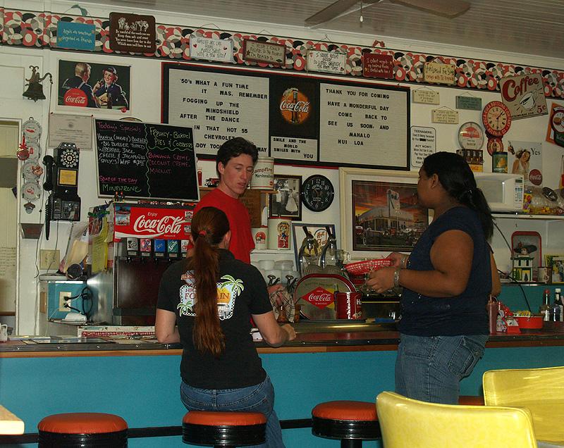 50's Fountain Cafe - interior 4