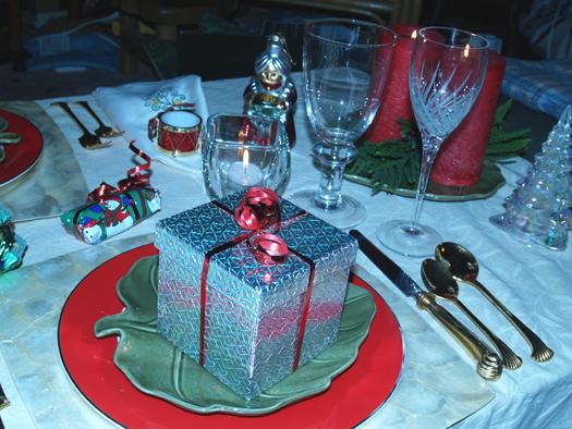 Christmas Eve table 3