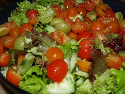 Olelo pa'a - salad