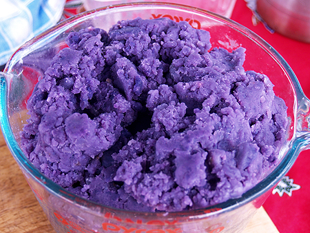 Purple sweet potato - about 4 cups