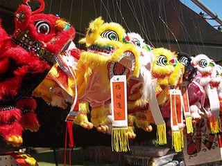 CNY 2010 - Dragon puppets