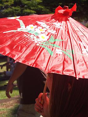 CNY 2010 - Chinese umbrellas
