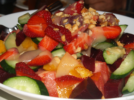 Chef Neil Murphy - Mixed Veggie and Strawberry Salad sm