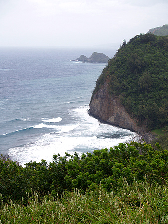 Pololu Valley Bay from the lookout 2