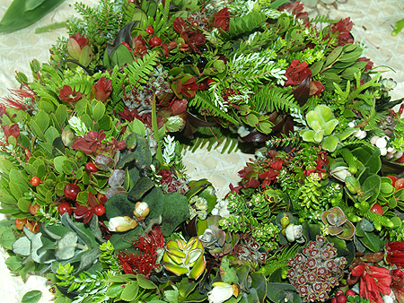 Wreath Making - finished!
