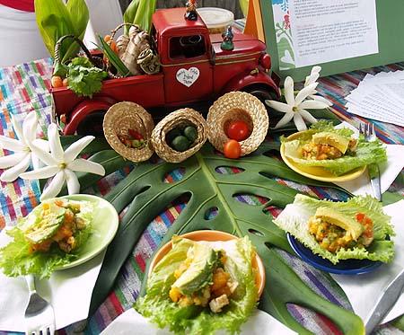 Taste of Puna - 2nd place - Aunty Tita's Island Tacos - Amanda Fergerstrom
