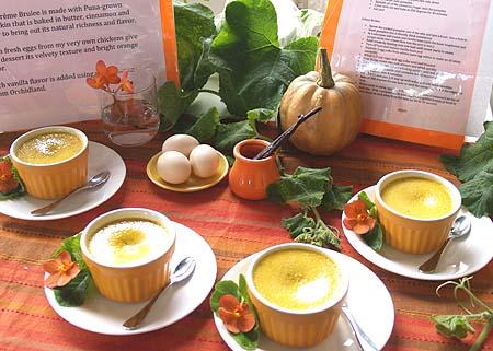 Taste of Puna - 1st place - Pumpkin Creme Brulee - Sunserene Queveda