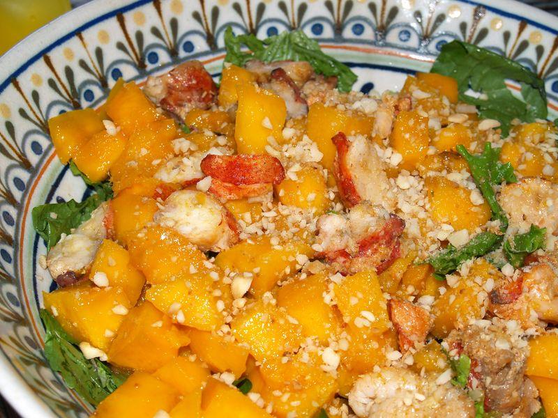 Kolekole picnic - Lobster & Mango Salad