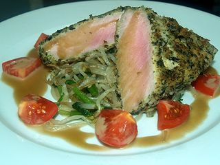 Taste of Hilo - Hilo Hawaiian hotel - Furikake crusted 'ahi