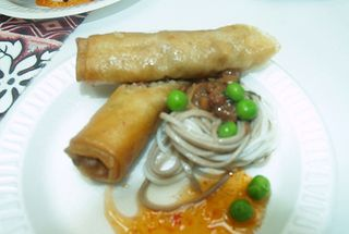 Taste of Hilo - HCC-  deep fried spring rolls
