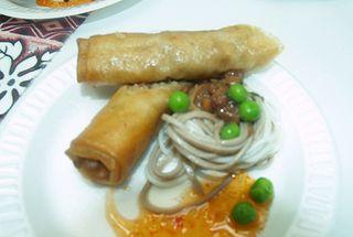 Taste of Hilo - HCC-  deep fried spring rolls