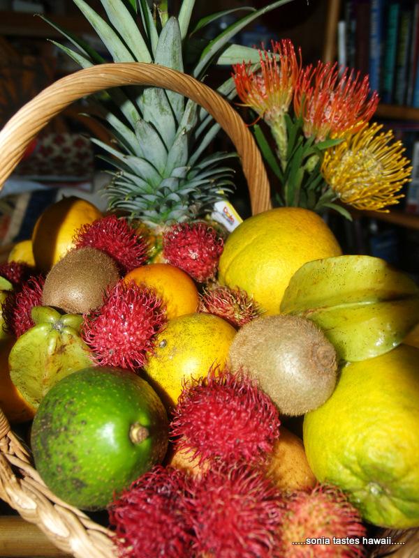 Xmas 10 - Fruit basket