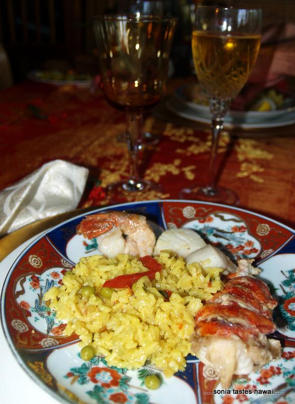 Xmas 10 - Dinner plate 3