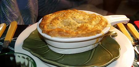 NYE 2010 - chicken pot pie 1