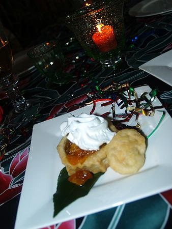 NYE 2010 - Poha dessert 2