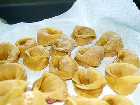 New Year pasta - tortellini