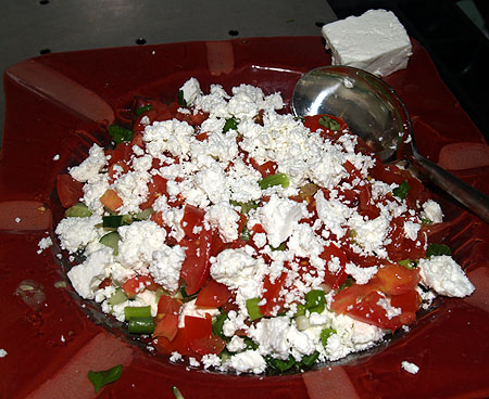 Lava Rock Goat Farm - Feta Salad