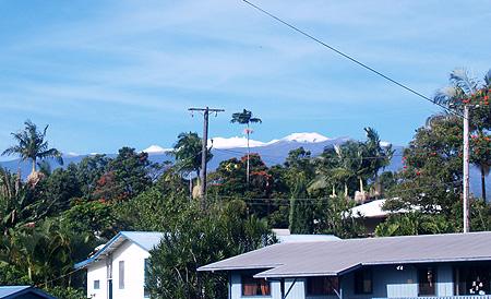 Mauna Kea - Snow - from the Honomu PO sm