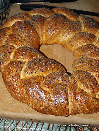 Soup & Bread - Linda's braided bread