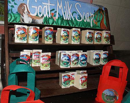 Lava Rock Goat Farm - Goat milk soaps