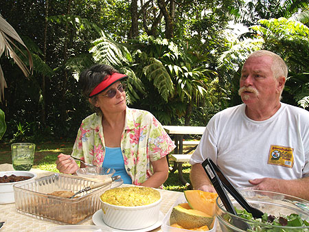 Picnic at the zoo - Brenda & Kevan