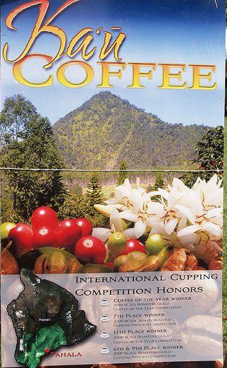 Ka'u Coffee fest - Ka'u Coffee poster