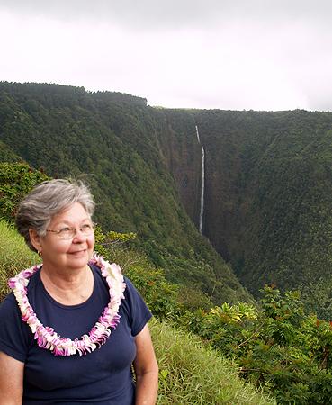 BDay - Waipio Rim Tour 3rd falls - Hi'ilawe Falls - 1400 ft S