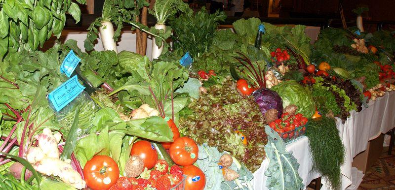 Taste - Hawaii Grown table display - overall lg