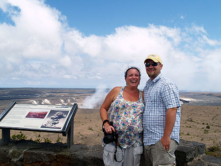A touring day - volcano visit