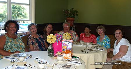 Birthday Tea - Cat, Sonia, Terri, Peggy, Marilyn, Florence and Bonnie