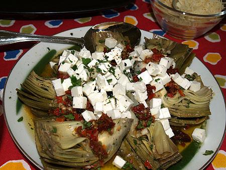 Olelo - artichoke salad