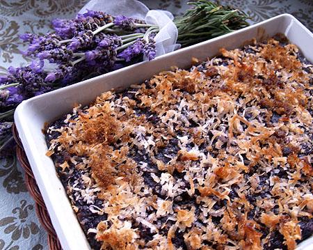Purple Sweet Potatoe Pie - crustless