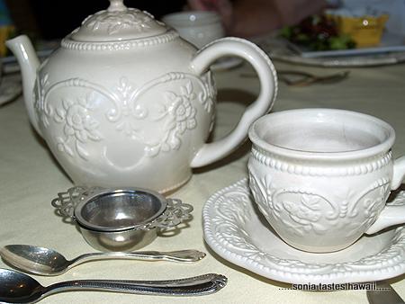 Birthday Tea -  The setting 2