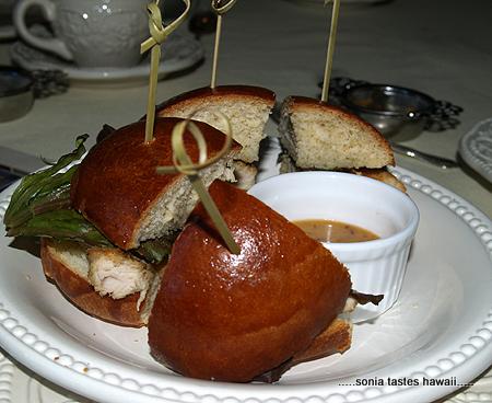 Birthday Tea - Chicken Sandwich