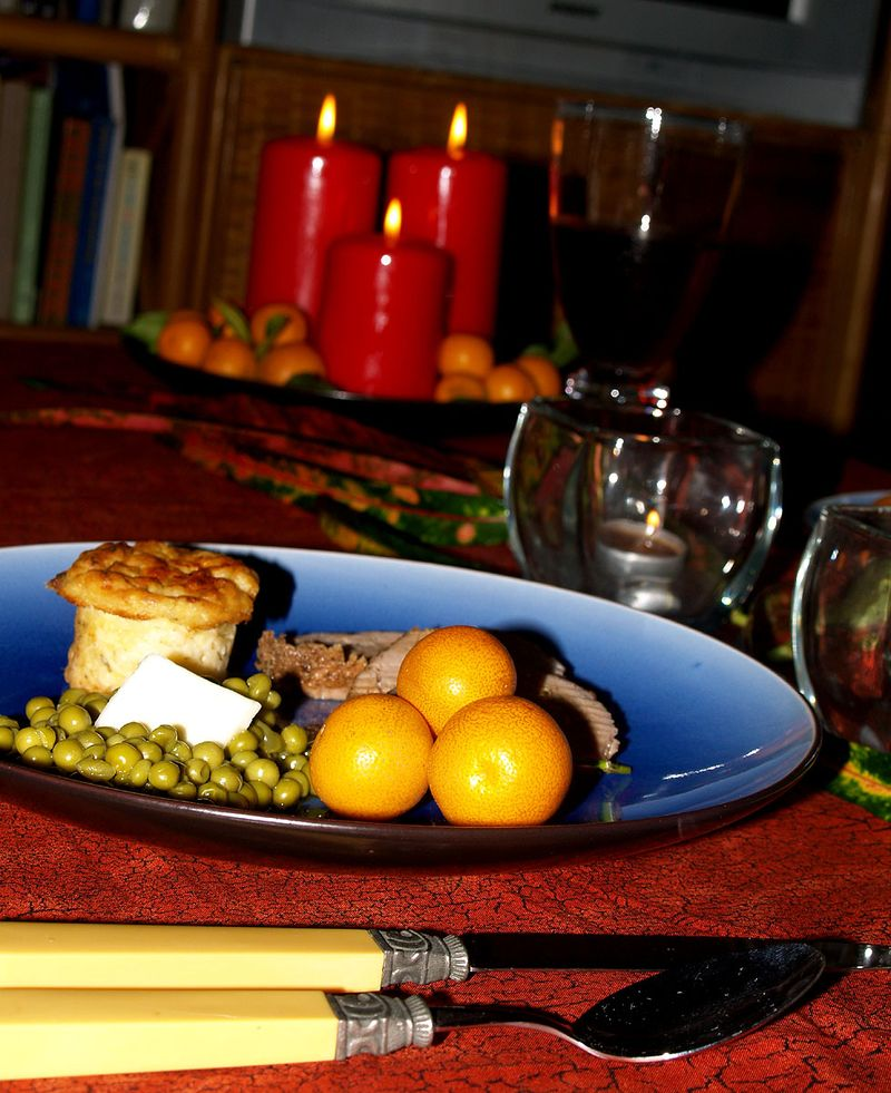 Eve of Christmas Eve - table & food 1 sm
