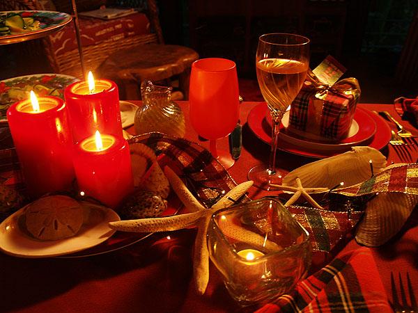 Christmas Eve - Table setting 5 sm