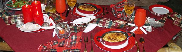 Christmas Eve - Table setting 12 sm banner