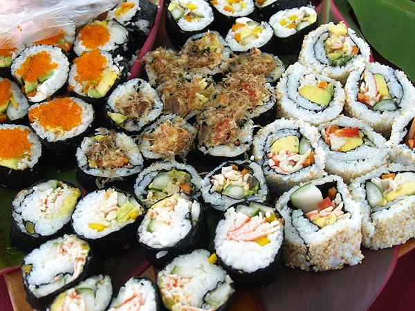 BD Luau - Sushi platter
