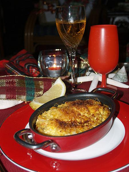 Christmas Eve - Table - Seafood Casserole 3 sm