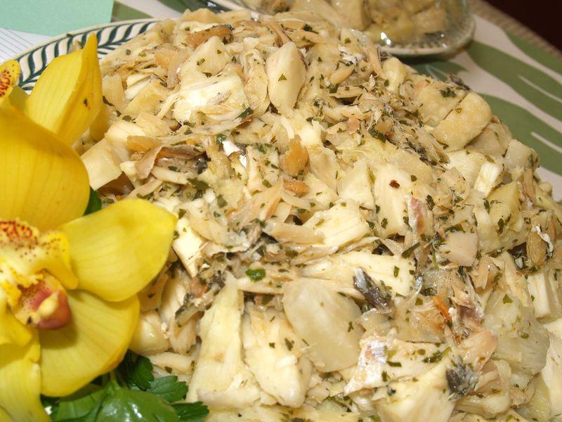 Puna BF CC - 'Ulu & Codfish Salad - Pi'ilani Chaves