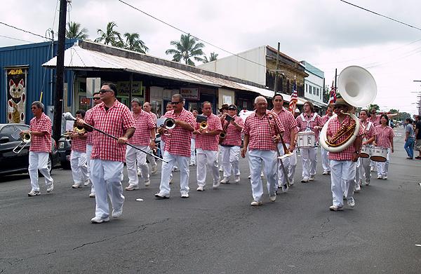 MM parade - Hawaii County Band