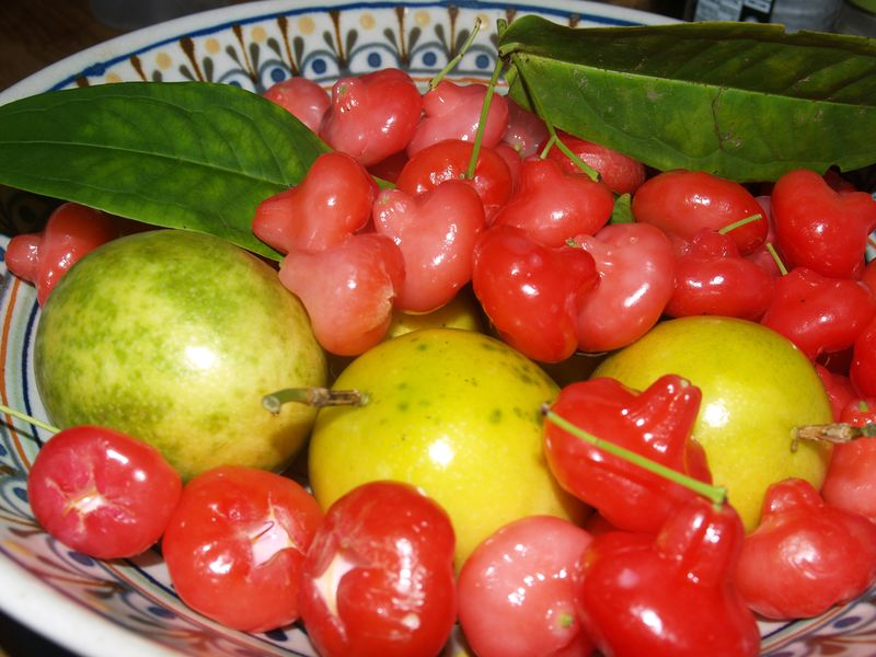 Water Apples and Liliko'i