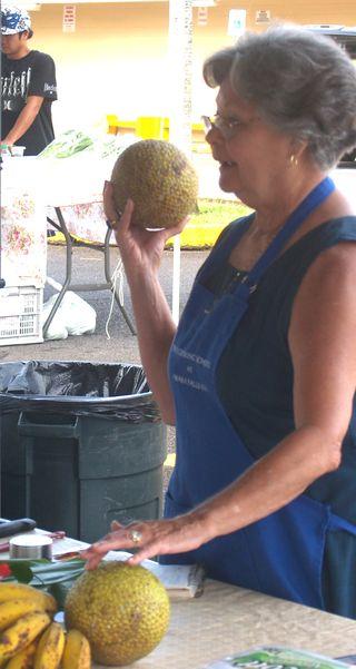Breadfruit & Banana Custard - 4 speaking ol breadfruit..