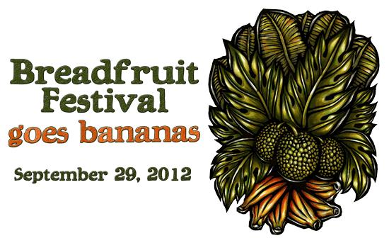 2012 Breadfruit Fest Logo