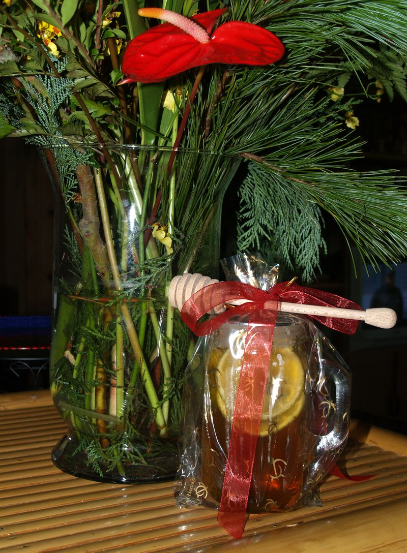Christmas Party 2012 - honey jar gifts