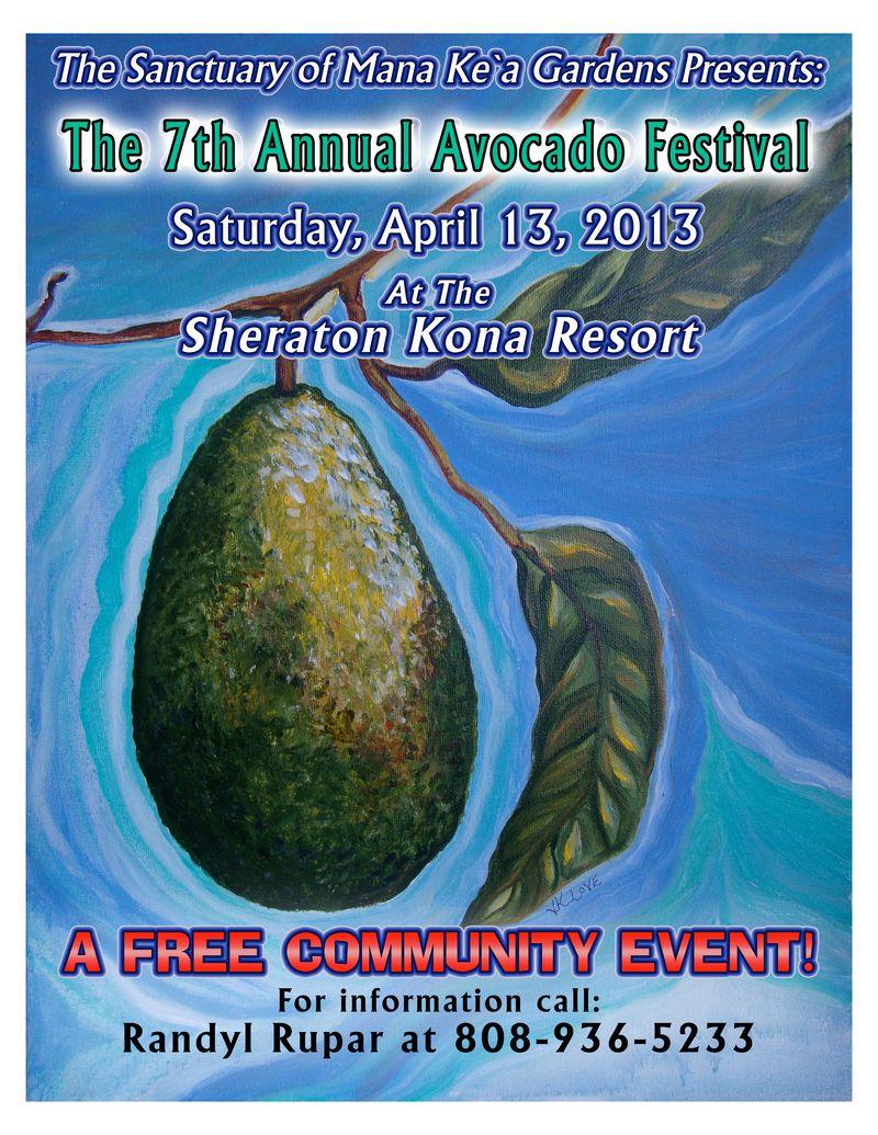 Avo Fest Poster