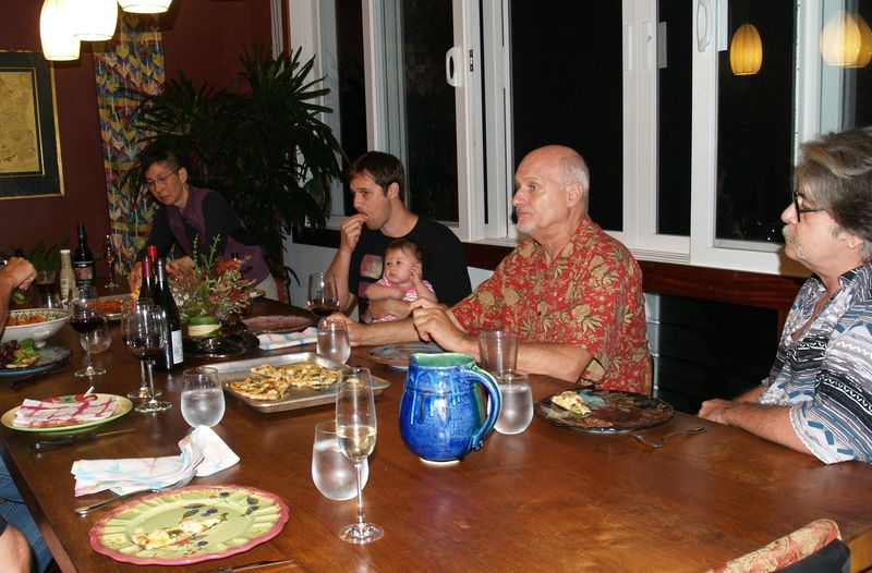Pizza Party - 12 - Lei, Kaui w Arya, Mike and Anthony
