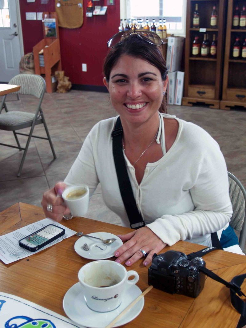 Miami friends - Anabel at Hilo Coffee Mill