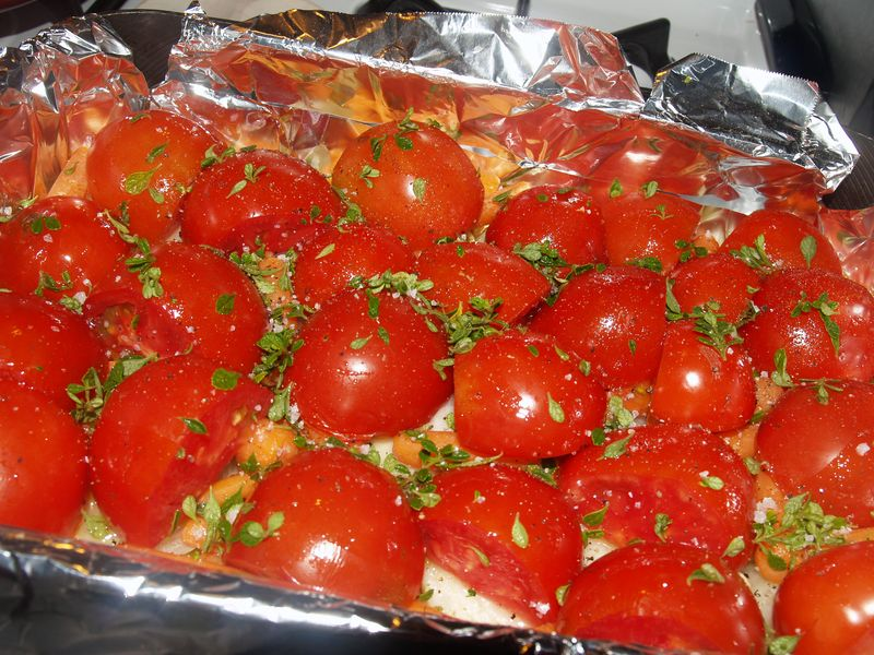 Roasted Tomato Sauce - Ready for oven